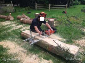 Mobilus medienos pjovimo gateriukas, stakles - nuotraukos Nr. 4