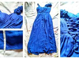 Puošni ilga šventinė suknelė - nuotraukos Nr. 2