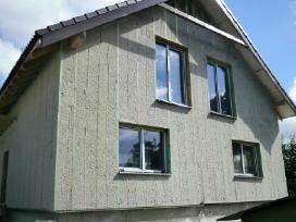 Šiltinimas ekovata (sienos, stogai, perdangos)