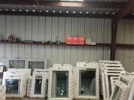 Nauji plastikiniai langai