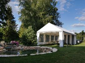Palapinių - paviljonų nuoma