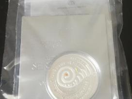 Joninems skirta sidabrine moneta