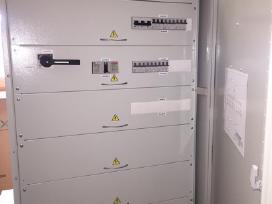 Elektros įvadinių-paskirstymo skydų surinkimas - nuotraukos Nr. 2