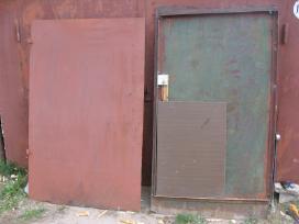 Skardos lakstai Durys - nuotraukos Nr. 4