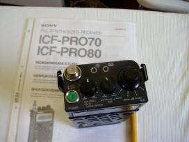 Sony Radijo imtuvas Icf-pro70 , Icf-pro80