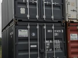 Nauji jūriniai konteineriai 6m ir 12 m