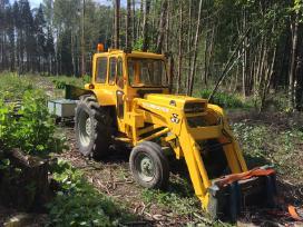 Šakų kapoklės-smulkintuvo su traktoriumi nuoma - nuotraukos Nr. 3