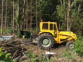 Šakų kapoklės-smulkintuvo su traktoriumi nuoma - nuotraukos Nr. 4