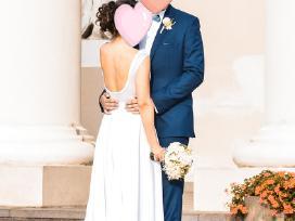 Elegantiška vestuvinė suknelė - nuotraukos Nr. 2