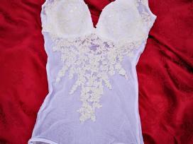Elegantiška vestuvinė suknelė - nuotraukos Nr. 4
