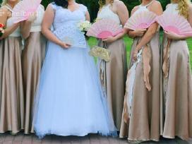 Šventinė elegantiška (pamergių) suknelė - nuotraukos Nr. 2