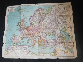 Vokiškas žemėlapis - nuotraukos Nr. 2