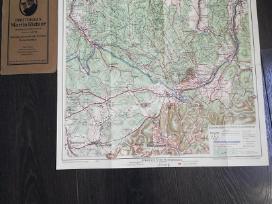 Vokiškas žemėlapis 2 - nuotraukos Nr. 2