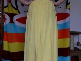 Žavinga, puošni geltona suknelė - nuotraukos Nr. 4