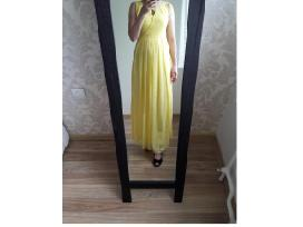 Žavinga, puošni geltona suknelė