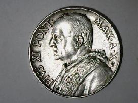 Vatikanas 10 lirų, 1931