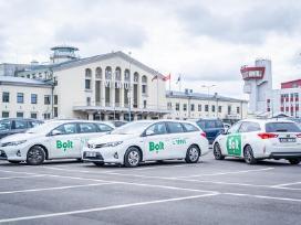 Pavežėjo darbas Bolt-taxify platformoje (taksi)