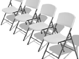 Vidaxl Sulankstomos sodo kėdės, 4 vnt. 42458