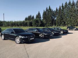 Audi A8 & A8l nuoma vestuvems // Audi A8 car rent