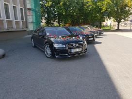 Audi A8, A8l, S8, Q7 nuoma vestuvems - nuotraukos Nr. 4