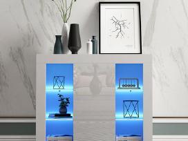 Naujos modernios komodos su Led - nuotraukos Nr. 3