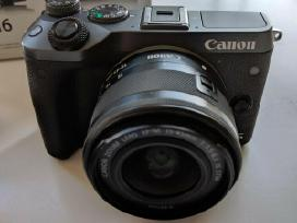 Canon EOS M6 24.2mp Digital Camera Kit w/ Ef-m 15