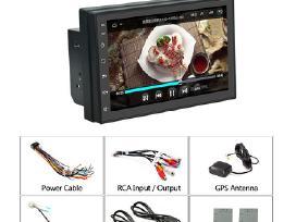 Android Multimedia liečiamu ekranu, GPS, 2din