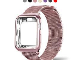 Apple watch 38 - 40, 42 - 44mm, sidabrinė, juoda.