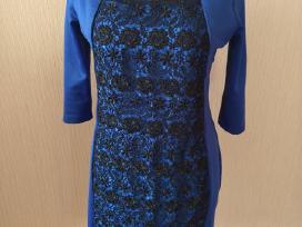 Daili, tampri proginė mėlyna suknelė