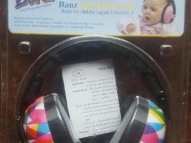 Vaikiskos apsaugines ausines Banz