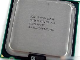 Pigiausiai cpu intel core 2 duo socket 775