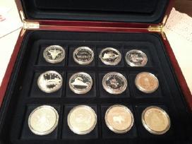 Sidabrinės Kanados dolerio kolekcinės monetos 2010 - nuotraukos Nr. 2