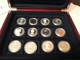 Sidabrinės Kanados dolerio kolekcinės monetos 2010 - nuotraukos Nr. 3