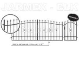 Tvoros, vartai, varteliai, stulpialiai, groteliai.