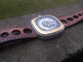 Laikrodžių apyrankės (rankų darbo odinės apyrankės - nuotraukos Nr. 2