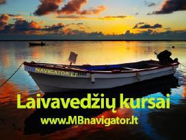 Laivavedžių kursai MB Navigator Lt nauja grupe 10d