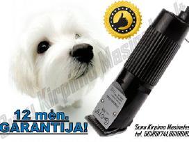 Šunų ir kačių kirpimo mašinėlės su Garantija