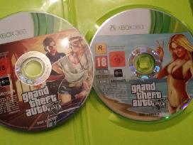 Xbox žaidimai Originalūs Gta 5, Forza ir kt