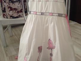 Šventinė suknelė mergaitei 128cm - nuotraukos Nr. 3