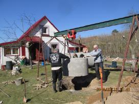 Betono gaminiai, šuliniu žiedai. - nuotraukos Nr. 2