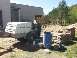 Grindų betonavimas - nuotraukos Nr. 2