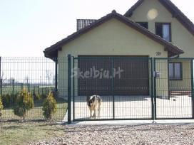 Tvoros, vartai segmentinės, tinklinės medinės - nuotraukos Nr. 3