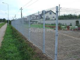 Tvoros, vartai segmentinės, tinklinės medinės - nuotraukos Nr. 4