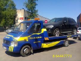 Techninė pagalba kelyje - Automobilių pervežimas