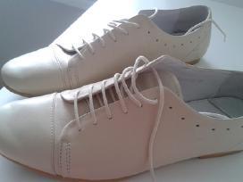 Stilingi odiniai vyriški šviesūs batai - nuotraukos Nr. 2