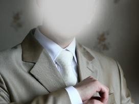 Vyriškas kostiumas, kaip naujas. - nuotraukos Nr. 3