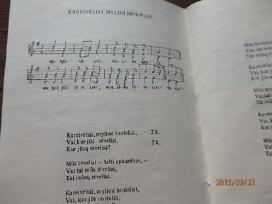 Sena knygute Lietuvos kariu dainos - nuotraukos Nr. 2