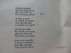 Sena knygute Lietuvos kariu dainos - nuotraukos Nr. 3