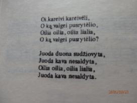 Sena knygute Lietuvos kariu dainos - nuotraukos Nr. 4