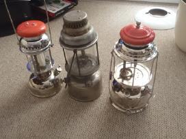 Ieskau zibaliniu lempu, primusu, raciju ir kt.